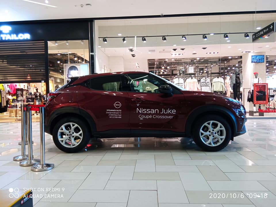 Novi Nissan Juke